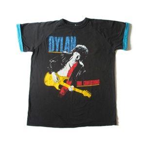 Vintage 80s Bob Dylan Tour Tshirt